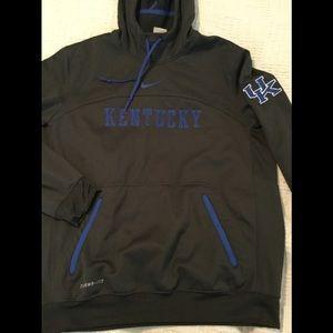 University Kentucky Nike hoodie therma fit SZ med